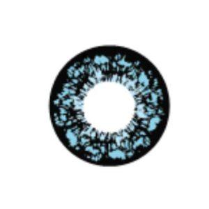 GEO PANSY BLEU WT-C62 LENTILLE CONTACT BLEUE