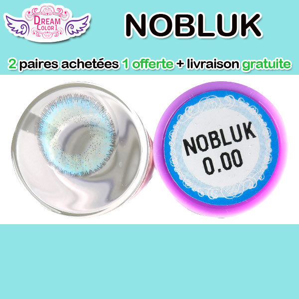 DREAMCON NOBLUK BLEU LENTILLE CONTACT BLEUE