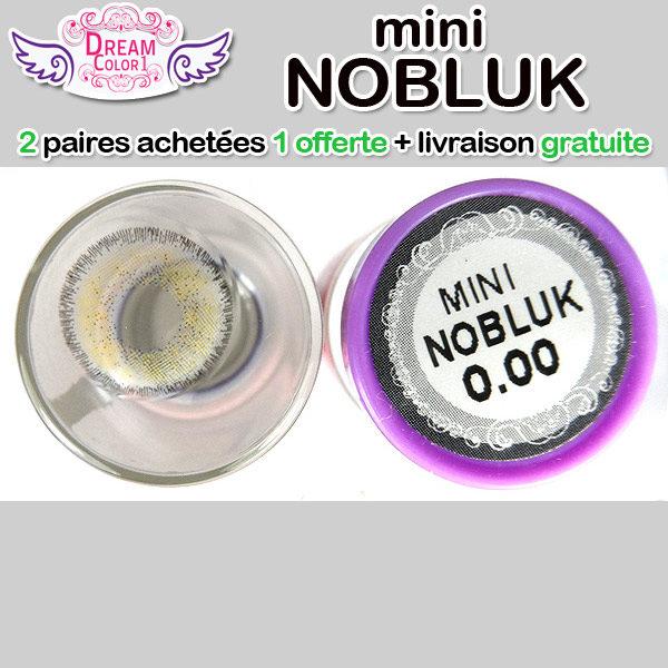 DREAMCON MINI NOBLUK GRIS LENTILLE CONTACT GRISE