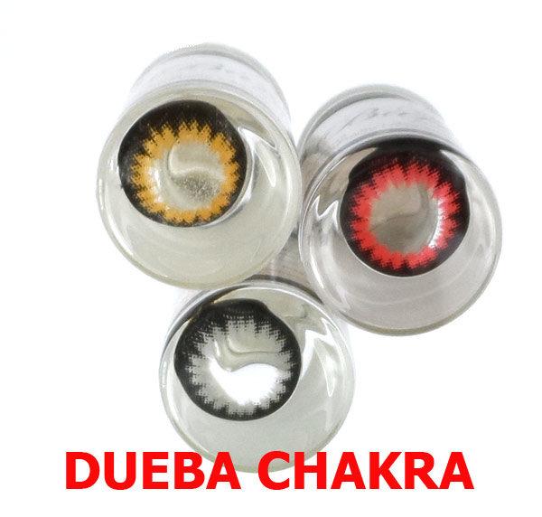 DUEBA CHAKRA ROUGE LENTILLE CONTACT ROUGE