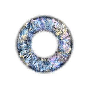 DUEBA DIAMOND 4 TONS BLEU LENTILLE CONTACT BLEUE