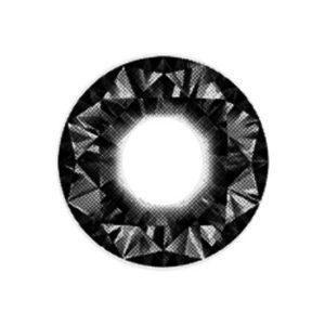 DUEBA DIAMOND NOIR LENTILLE CONTACT NOIRE