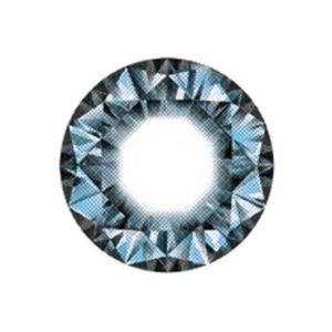 DUEBA DIAMOND BLEU LENTILLE CONTACT BLEUE