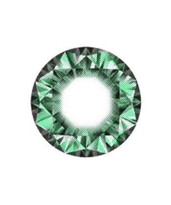 DUEBA DIAMOND VERT LENTILLE CONTACT VERTE