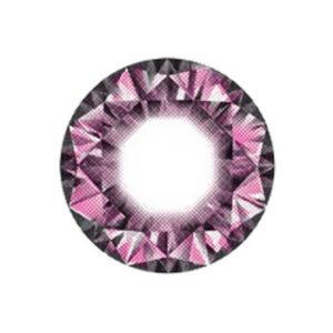 DUEBA DIAMOND ROSE LENTILLE CONTACT ROSE