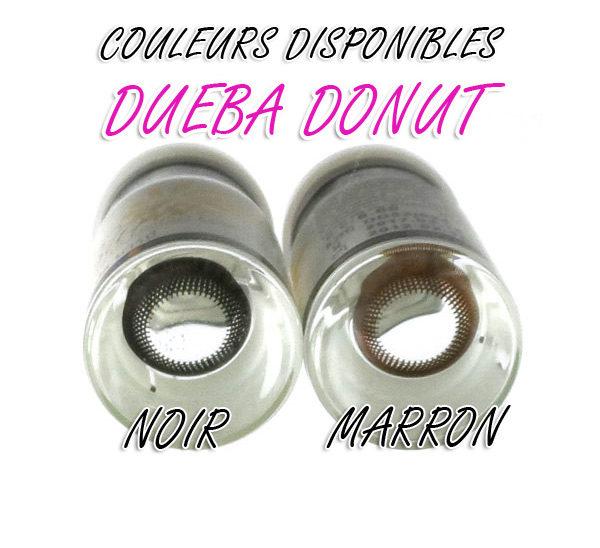DUEBA DONUT NOIR LENTILLE CONTACT NOIRE