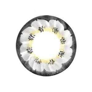 DUEBA FLOWER GRIS LENTILLE CONTACT GRISE