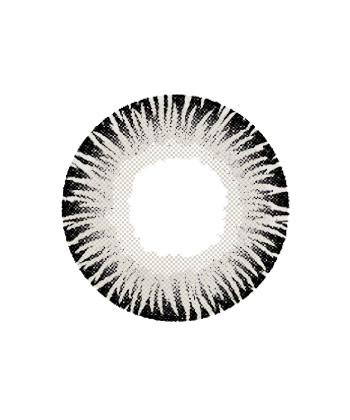 DUEBA GLAMOUROUS GRIS LENTILLE CONTACT GRISE
