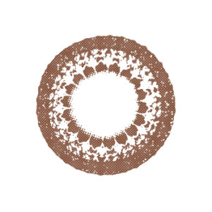 DUEBA LACE CHOCO MARRON LENTILLE CONTACT MARRON