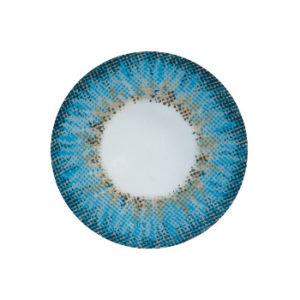 DUEBA PUFFY BLEU LENTILLE CONTACT BLEUE