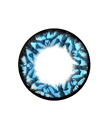 DUEBA STARLIGHT BLEU LENTILLE CONTACT BLEUE