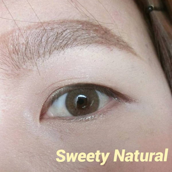 DUEBA SWEETY NATURAL MARRON CLAIR OR LENTILLE CONTACT OR