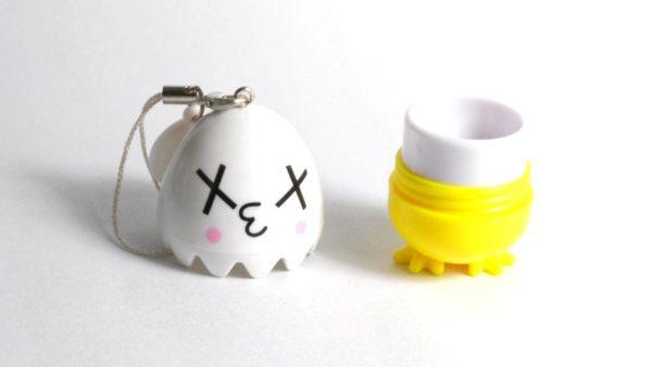 Etui Lentilles de Contact Decoration Mobile Oeuf Confus