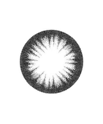 GEO MAGIC COLOR NOIR CK-106 LENTILLE CONTACT NOIRE