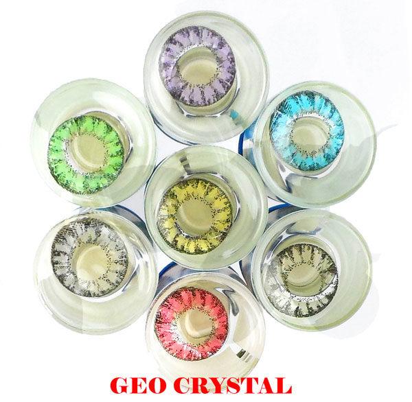 GEO CRYSTAL NOIR WI-A10 LENTILLE CONTACT NOIRE