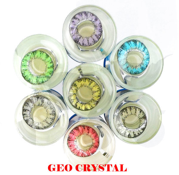 GEO CRYSTAL ROSE WI-A17 LENTILLE CONTACT ROSE