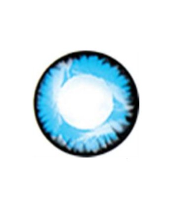 GEO NOVA BLEU WT-B42 LENTILLE CONTACT BLEUE