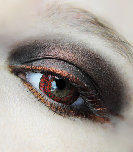 GEO NUDY ROUGE WCH-628 LENTILLE CONTACT ROUGE