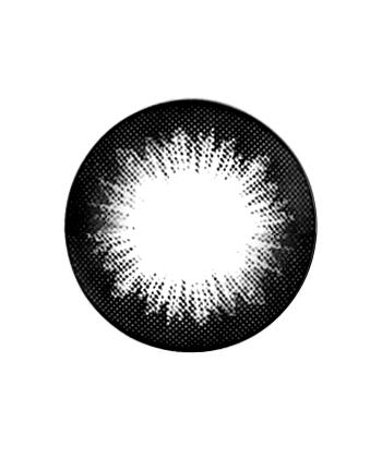 GEO SMOKEY NOIR WCK-111 LENTILLE CONTACT NOIR