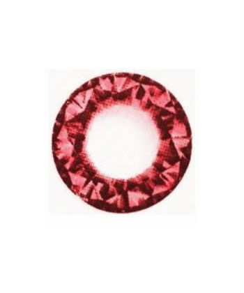 GEO DIAMOND ROUGE WT-B38 LENTILLE CONTACT ROUGE