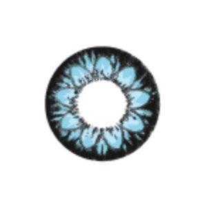 GEO PLUM BLEU WT-C22 LENTILLE CONTACT BLEUE