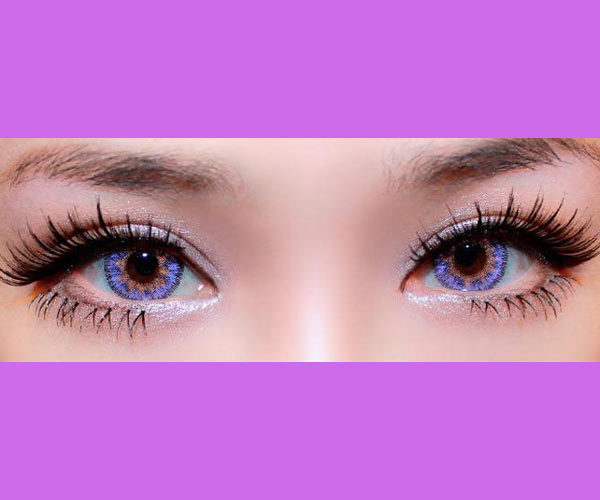 DUEBA VIRGIN MAUVE LENTILLE CONTACT MAUVE