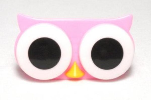 Etui Lentilles de Contact Animal Zoo Big eyes Cute Owl
