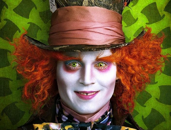 Maquillage chapelier fou alice au pays des merveilles - Deguisement alice au pays des merveilles fait maison ...