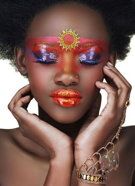maquillage africain