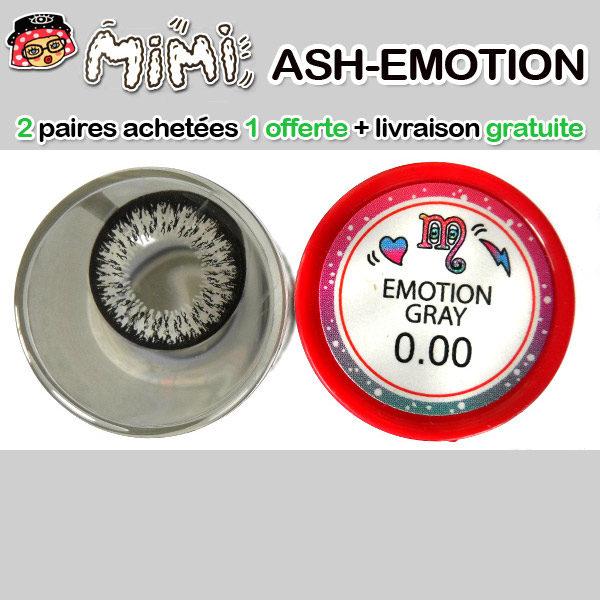 MIMI EMOTION GRIS LENTILLE CONTACT GRISE