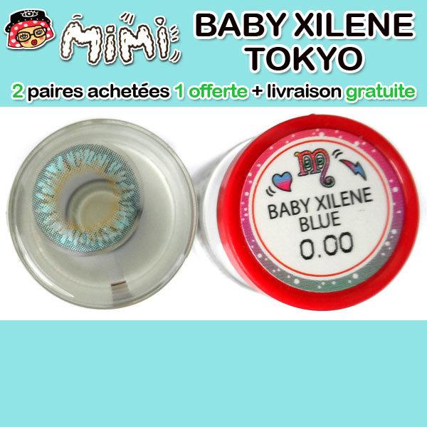 MIMI BABY XILENE BLEU LENTILLE CONTACT BLEUE