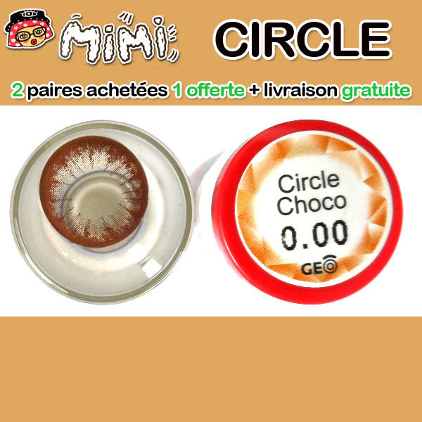 MIMI CIRCLE CHOCO LENTILLE CONTACT MARRON 14.5MM