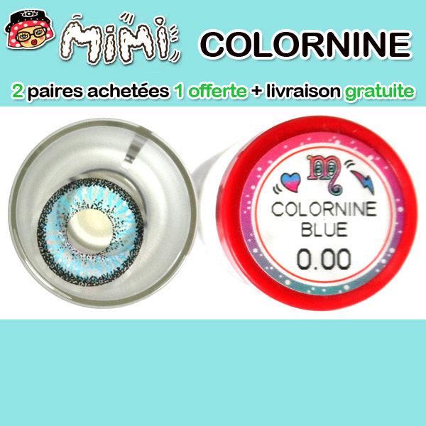 MIMI COLORNINE BLEU LENTILLE CONTACT BLEUE