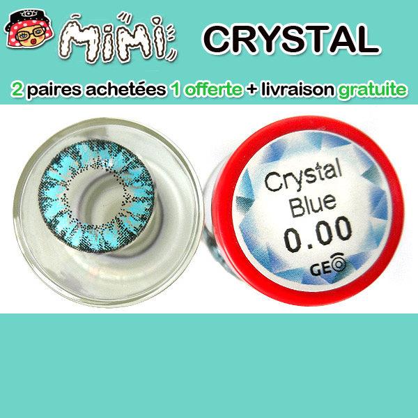 MIMI CRYSTAL BLEU LENTILLE CONTACT BLEUE