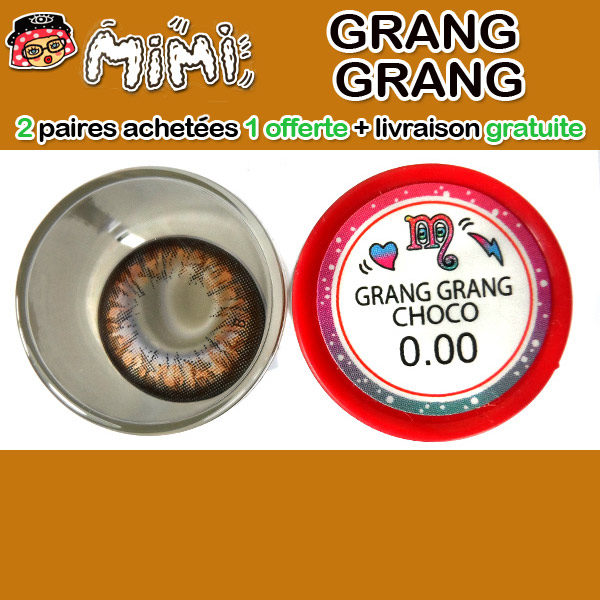 MIMI GRANG GRANG CHOCO LENTILLE CONTACT MARRON
