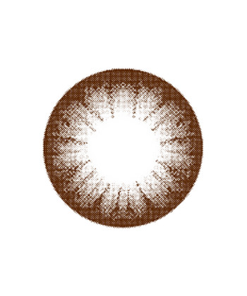 MIMI CIRCLE CHOCO LENTILLE CONTACT MARRON 14.2MM