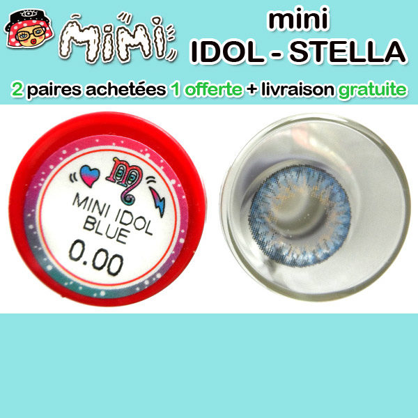 MIMI IDOL BLEU LENTILLE CONTACT BLEUE