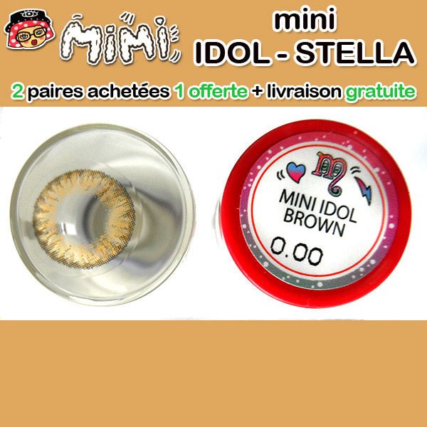 MIMI IDOL MARRON LENTILLE CONTACT MARRON