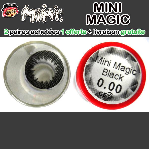 MIMI MAGIC NOIR LENTILLE CONTACT NOIRE