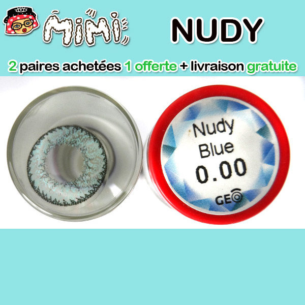 MIMI NUDY BLEU LENTILLE CONTACT BLEUE