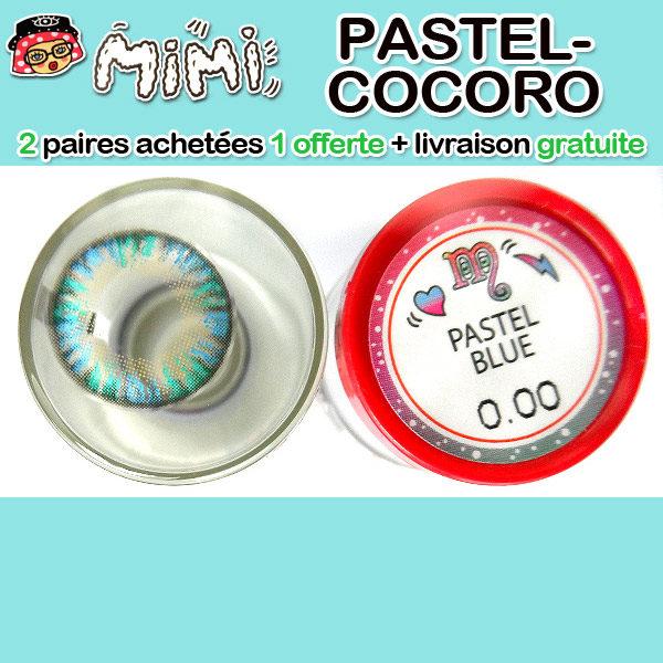 MIMI PASTEL BLEU LENTILLE CONTACT BLEUE