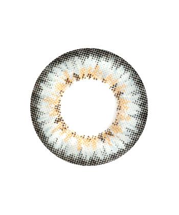 MIMI T PUFFY GRIS LENTILLE CONTACT GRISE