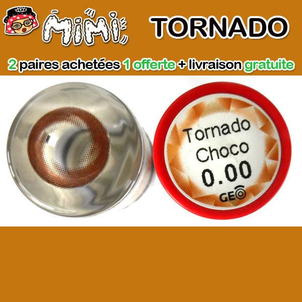 MIMI TORNADO CHOCO LENTILLE CONTACT MARRON