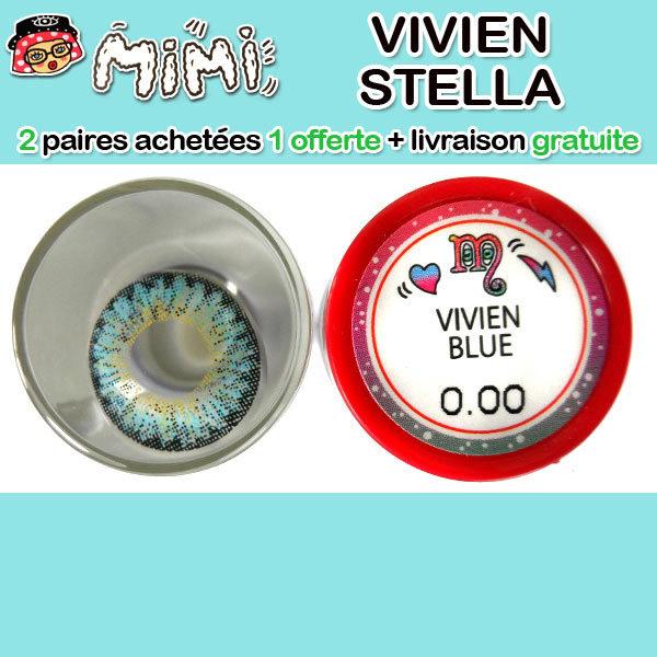 MIMI VIVIEN BLEU LENTILLE CONTACT BLEUE