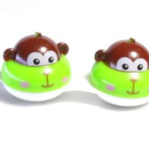 Etui Lentilles de Contact Porte-Cle Mio Friends Nano Monkey