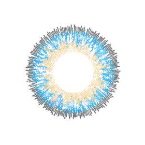 NEO VISION GLAMOUR BLEU LENTILLE CONTACT BLEUE