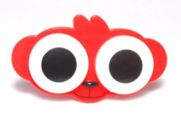 Etui Lentilles de Contact Animal Zoo Big eyes Red Monkey