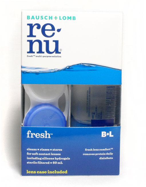 BAUSCH & LOMB RENU MULTI-PURPOSE 60 ML SOLUTION POUR LENTILLES