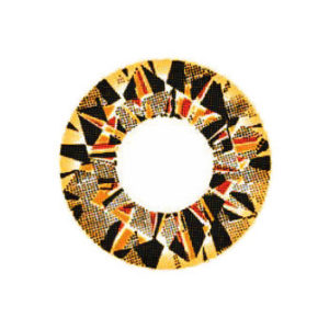 VASSEN DIAMOND 3 TONS MARRON LENTILLE CONTACT MARRON