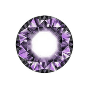 VASSEN DIAMOND VIOLET LENTILLE CONTACT MAUVE
